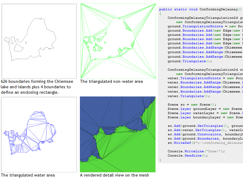 Click to view G# geometry libraries for .NET 2.2.0 screenshot